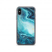 Sea Foam Aesthetic iPhone Case