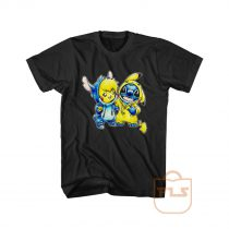 Stitch Pikachu Best Friends T Shirt