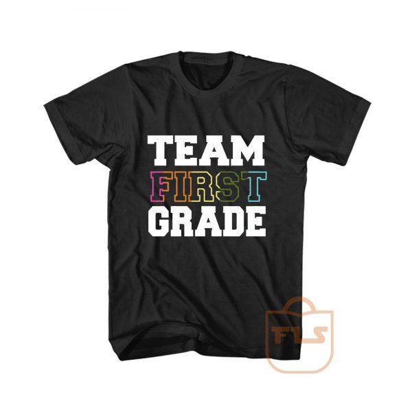 Team First Grade Cheap Graphic Tees