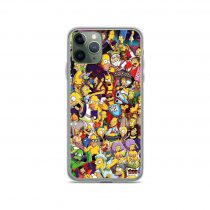 The Simpsons All Characters Collage iPhone 11 Case