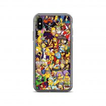The Simpsons All Characters Collage iPhone Case