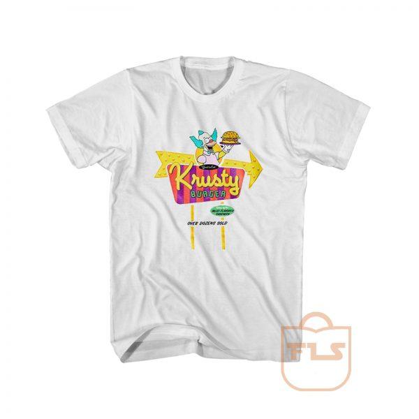 The Simpsons Krusty Burger T Shirt