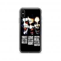 Trust Love Real Quote iPhone Case