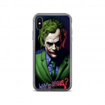Why So Serious Jokers iPhone Case