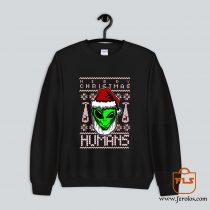 Alien Ugly Christmas Sweatshirt