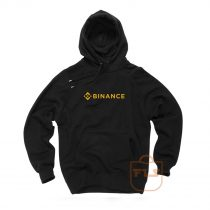 Binance Cryptocurrency Logo Hoodie