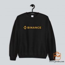 Binance Cryptocurrency Logo Sweatshirt