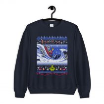 Cuddly as a Cactus Christmas Ugly Sweatshirt