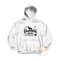 Deutsch Drahthaar One Dog Hoodie