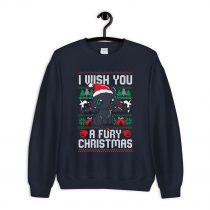 I Wish You a Fury Christmas Ugly Sweatshirt