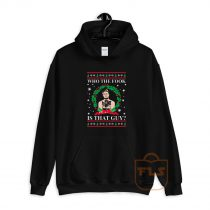 Merry Chrithmith Who The Fook Is That Guy Hoodie