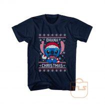 Ohana Christmas Ugly T Shirt