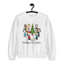 Peanuts Christmas Time is Here Sweatshirt