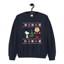 Peanuts Snoopy and Charlie Christmas Ugly Sweatshirt