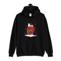 Peanuts Snoopy and Woodstock Stocking Light Up Hoodie