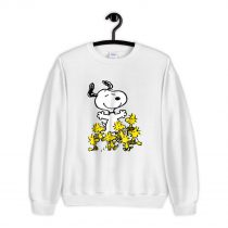 Peanuts Snoopy chick party Sweatshirt