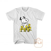 Peanuts Snoopy chick party T Shirt
