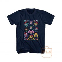 Senshi Family Christmas Ugly T Shirt