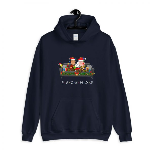 Snoopy Friends Reading Magical Book Xmas Hoodie