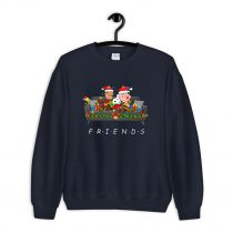 Snoopy Friends Reading Magical Book Xmas Sweatshirt