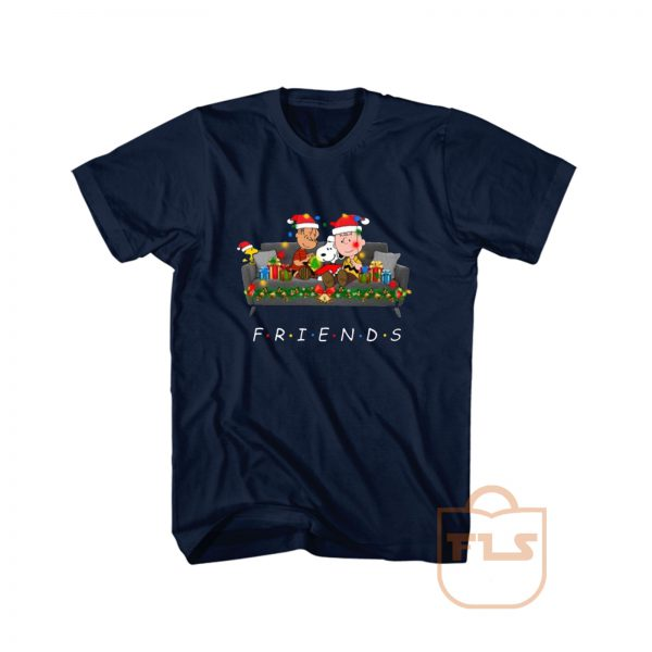Snoopy Friends Reading Magical Book Xmas T Shirt