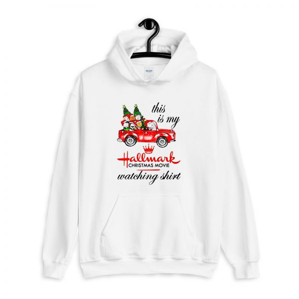 This is My Hallmark Christmas Movies Watching Snoopy Hoodie