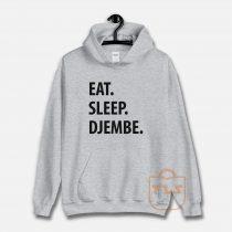 Eat Sleep Djembe Unisex Hoodie