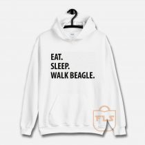 Eat Sleep Walk Beagle Hoodie