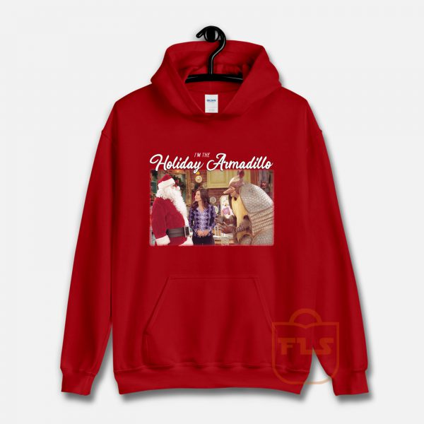 Friend's I'm The Holiday Armadillo Christmas Hoodie