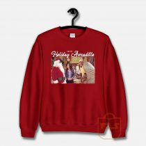 Friend's I'm The Holiday Armadillo Christmas Sweatshirt