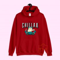 I'd Rather Chillax Snorlax Pokemon Hoodie