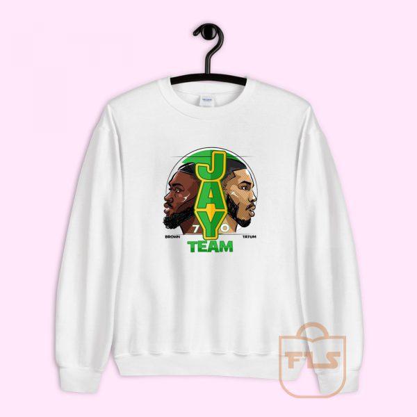 Jay Team 70 Brown Tatum Sweatshirt