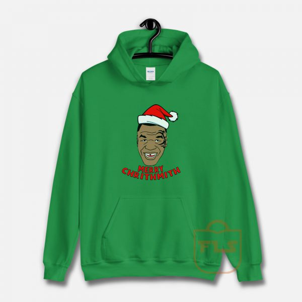 Mike Tyson Fleece Merry Chrithmith Hoodie