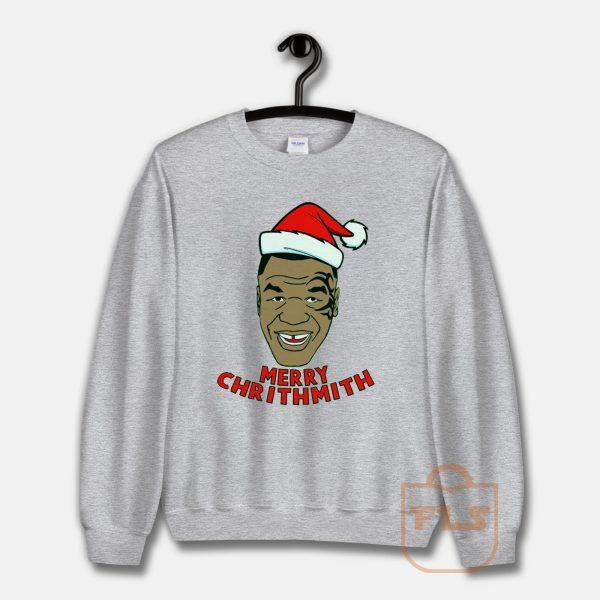 Mike Tyson Fleece Merry Chrithmith Sweatshirt