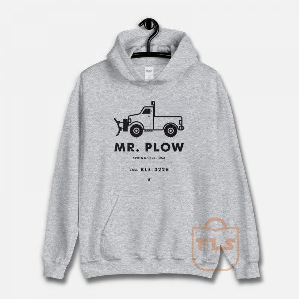 Mr Plow Christmas Unisex Hoodie