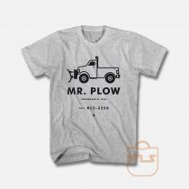 Mr Plow Christmas Unisex T Shirt