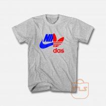 Nidas Nike X Adidas T Shirt