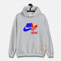 Nidas Nike X Adidas Unisex Hoodie