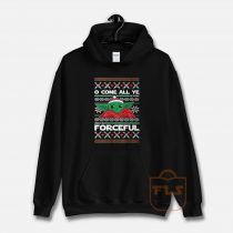 O Come All Ye Forceful Yoda Christmas Hoodie