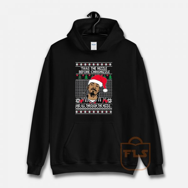 OnCoast Snoop Dog Fo Shizzle Dizzle Ugly Christmas Hoodie