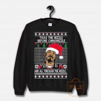 OnCoast Snoop Dog Fo Shizzle Dizzle Ugly Christmas Sweatshirt