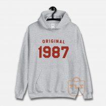 Original 1987 Vintage Unisex Hoodie