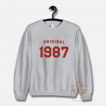 Original 1987 Vintage Unisex Sweatshirt