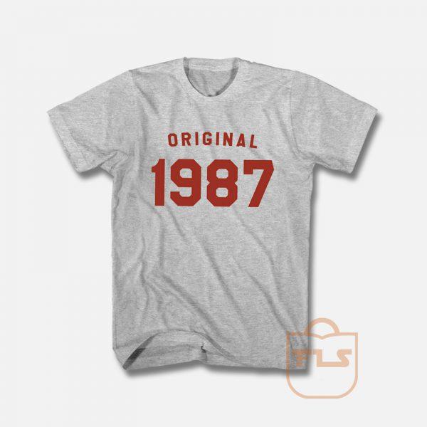 Original 1987 Vintage Unisex T Shirt