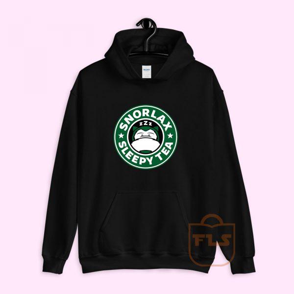 Snorlax Sleepy Tea Hoodie