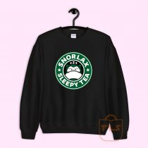 Snorlax Sleepy Tea Sweatshirt