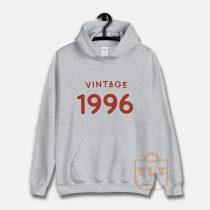 Vintage 1996 Unisex Hoodie