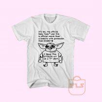 Yoda Need This Stolen Art On A T Shirt