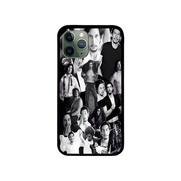 Adam Driver Muscles Collage iPhone Case 11 X 8 7 6