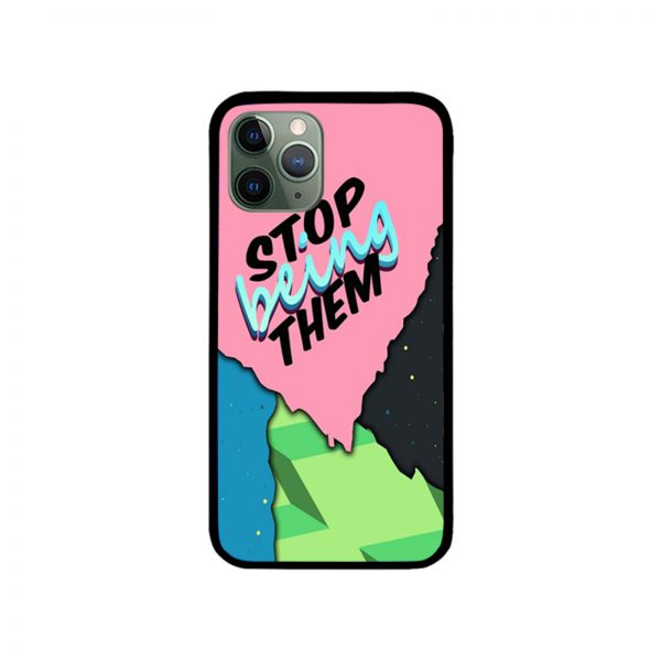 Daniel Ricciardo Stop Being Them iPhone Case 11 X 8 7 6
